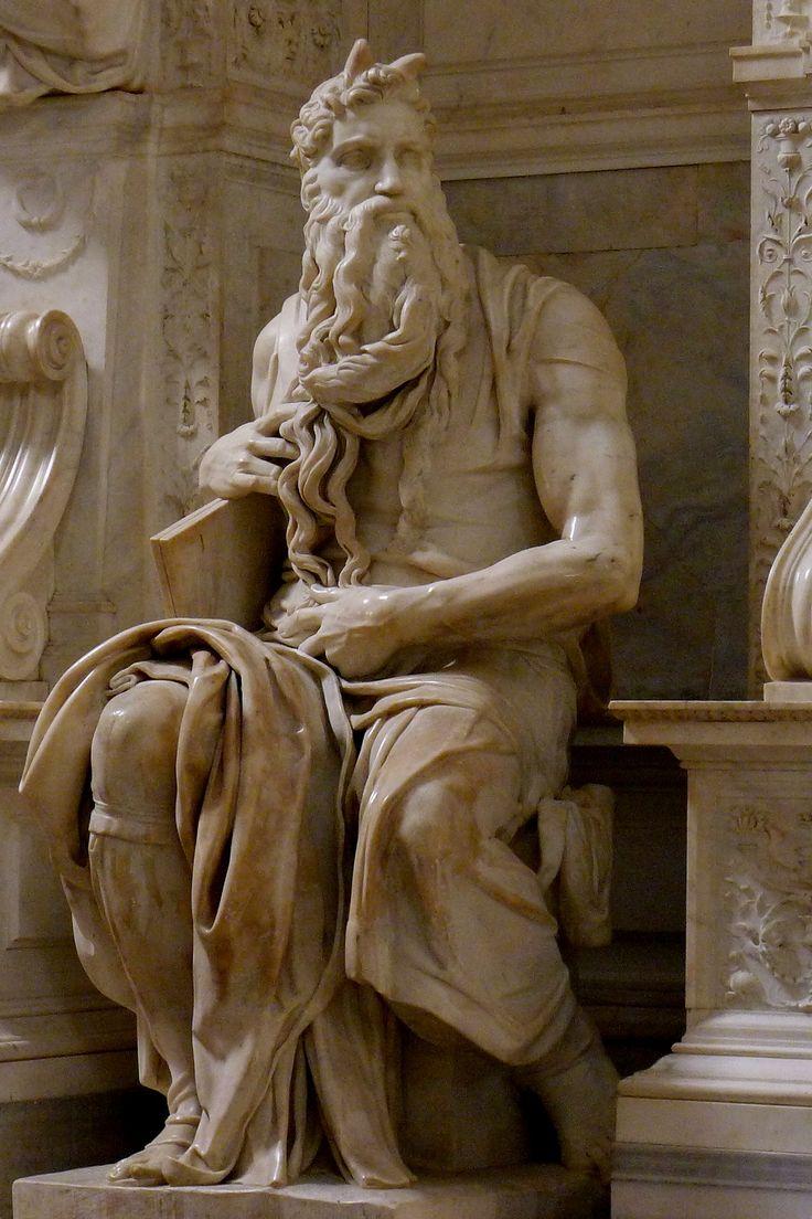 MICHELANGELO, Mosè, San Pietro in Vincoli-Roma 1513-15