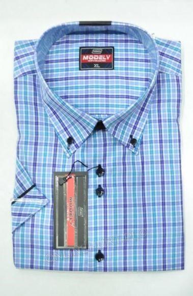 Koszula Męska Modely DH5A-P-CT  Kr. Rękaw (S-2XL)