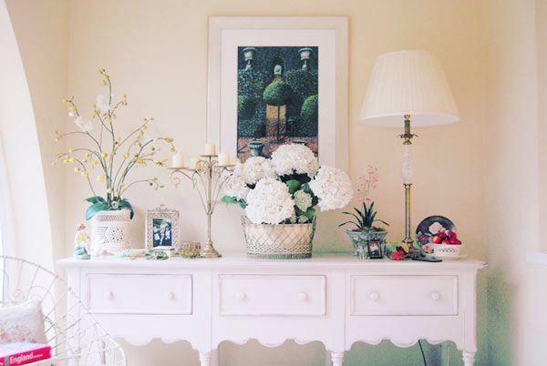 Decor, pink and flowers