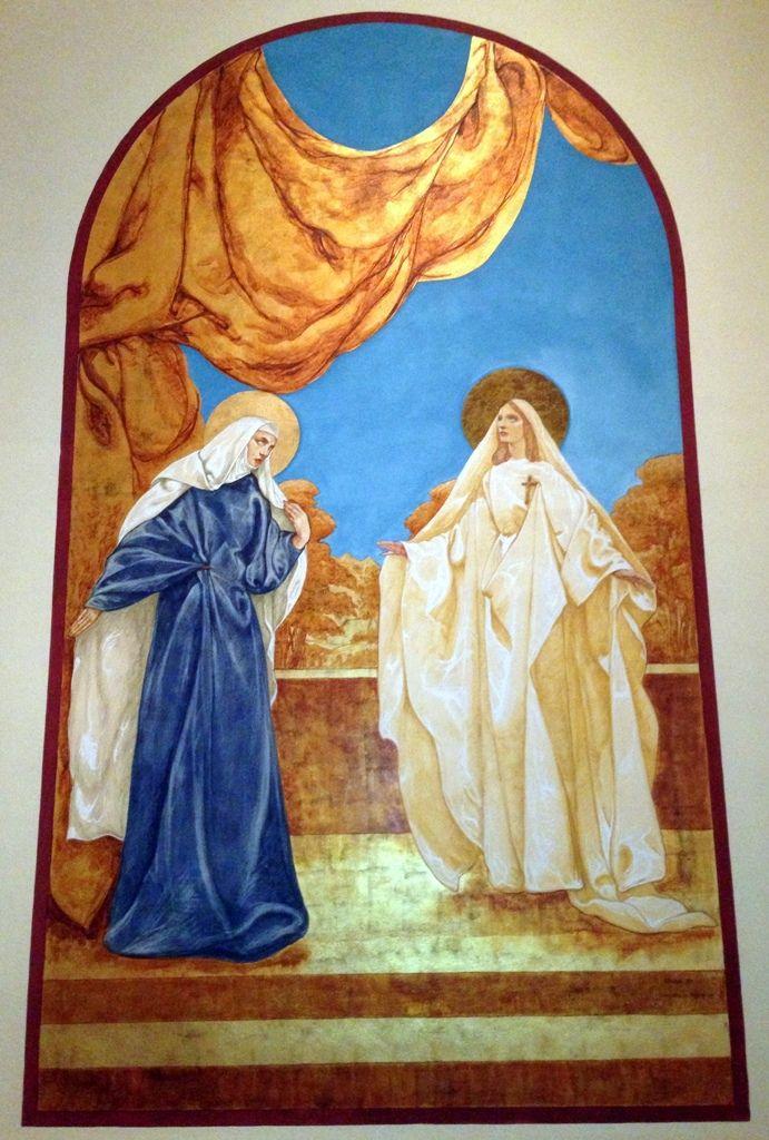 The Visitation, by John H DeRosen, at Saint John's Episcopal Church, in Memphis Tennesee