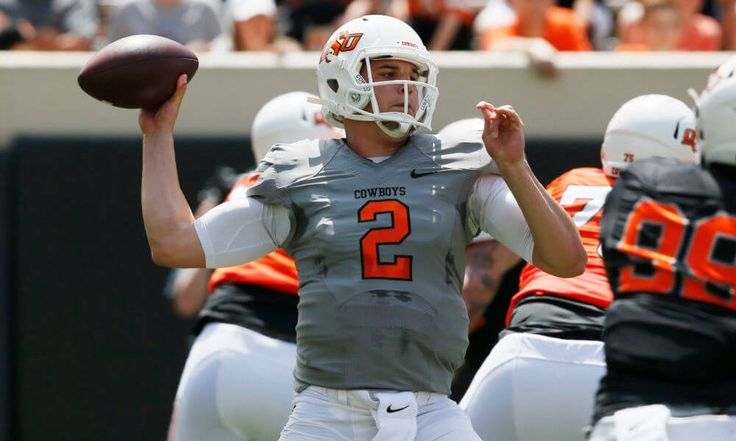 "Oklahoma State hopes to go long with senior Mason Rudolph at QB = FRISCO, Texas – The ""other"" quarterback for the ""other"" team in the Big 12 Conference is unfazed by any perceived pressure that he's the trigger man for what should be the league's most-prolific offense. Mason Rudolph plays....."