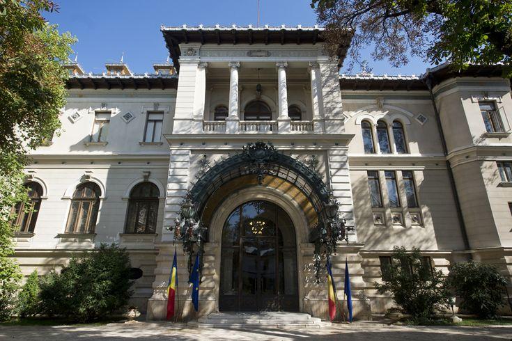 Palatul Cotroceni - curtea interioara
