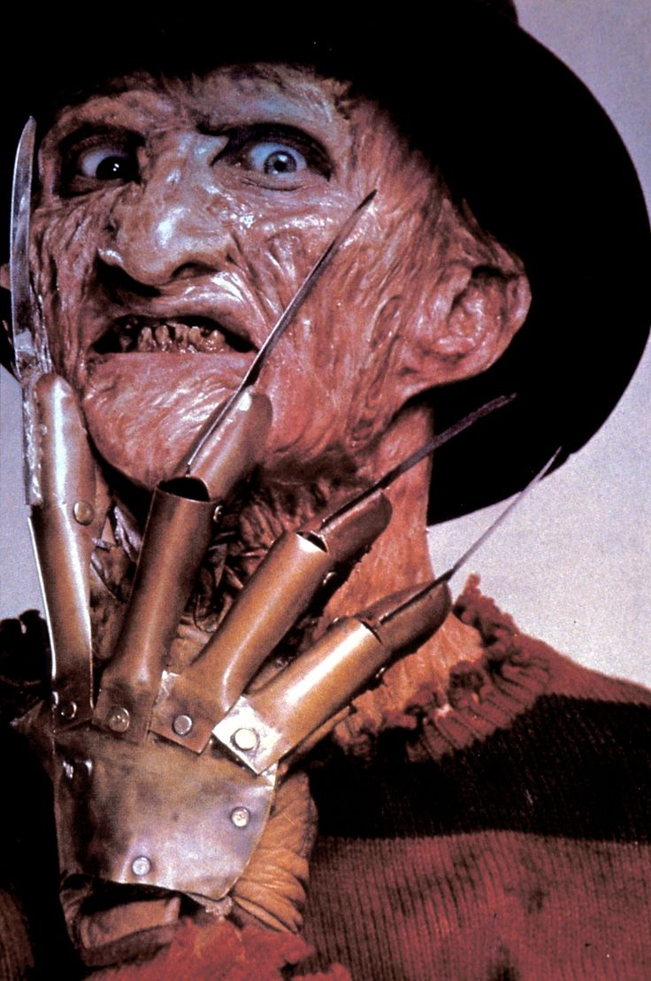Freddy Krueger (Robert Englund) - A Nightmare On Elm Street (1984) so every time I pinned this up my mum took it down ! wtf ;)