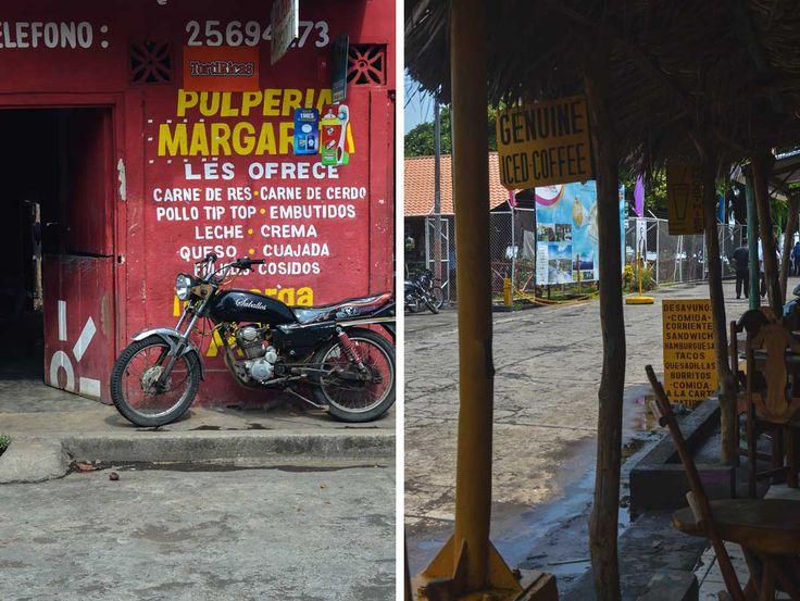 Street scenes in Moyogalpa, Isla de Ometepe in Nicaragua | heneedsfood.com