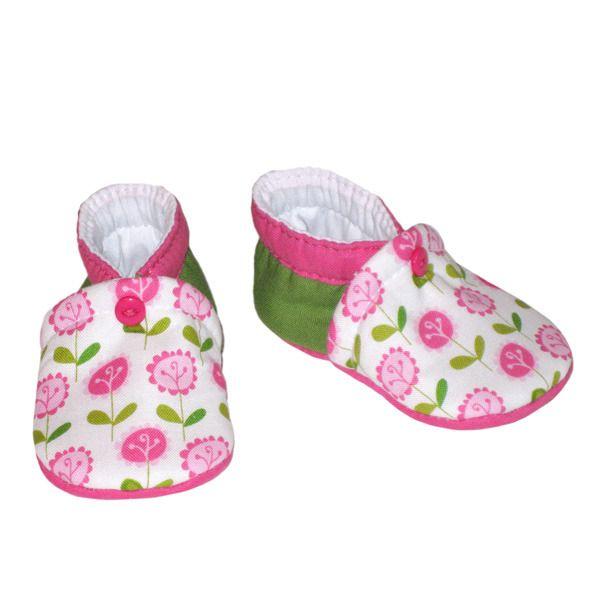 Chaussons bébé, tailles naissance ou 1/3 mois, modèle Lila : Mode Bébé par dont-forget-melanie