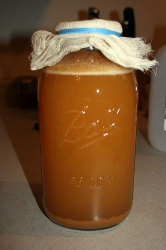 Fermented apple cider - hard apple cider recipe with wild yeast