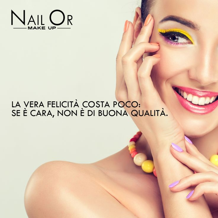 #happiness #woman with NailOr #makeup