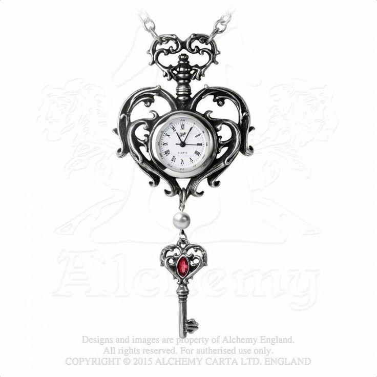 Temp de Sentiment - Montre pendentif - Alchemy Gothic