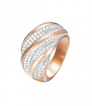 Esprit Collection Damenring EL-MELINA GLAM ROSE ELRG92461A – Bild 1