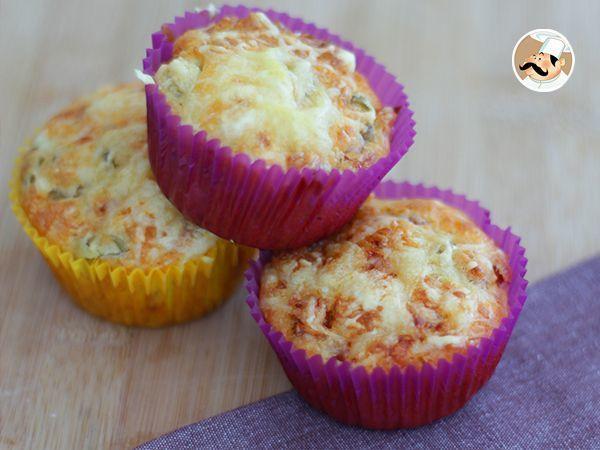 Muffins salés pour l'apéritif, Recette Ptitchef