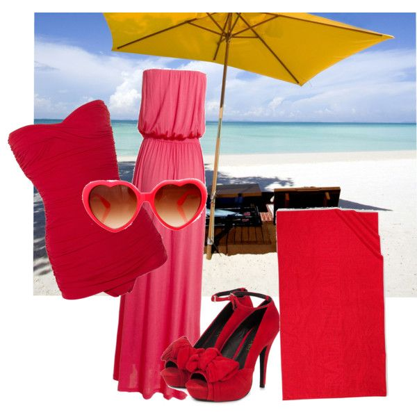 Swimwear, created by preecylove on Polyvore