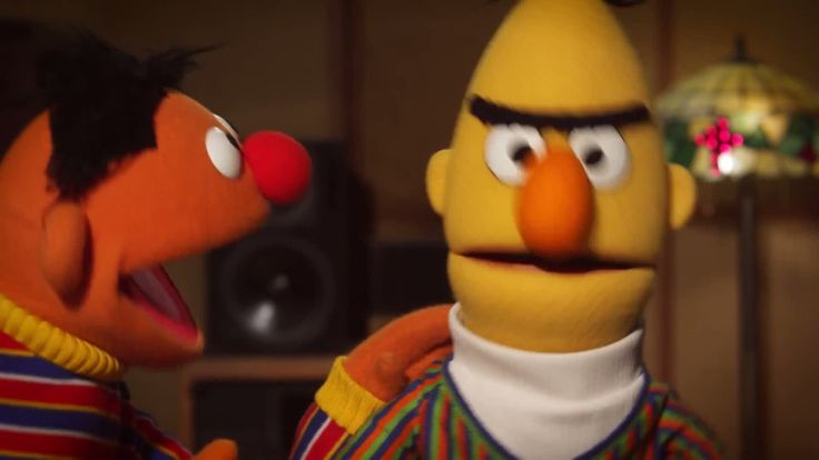 is bert and earnie gay