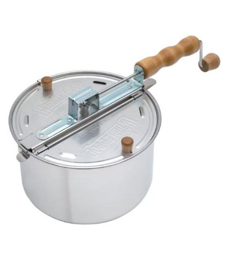 Whirley-Pop Stovetop Popcorn Popper — Faith's Daily Find 08.02.12