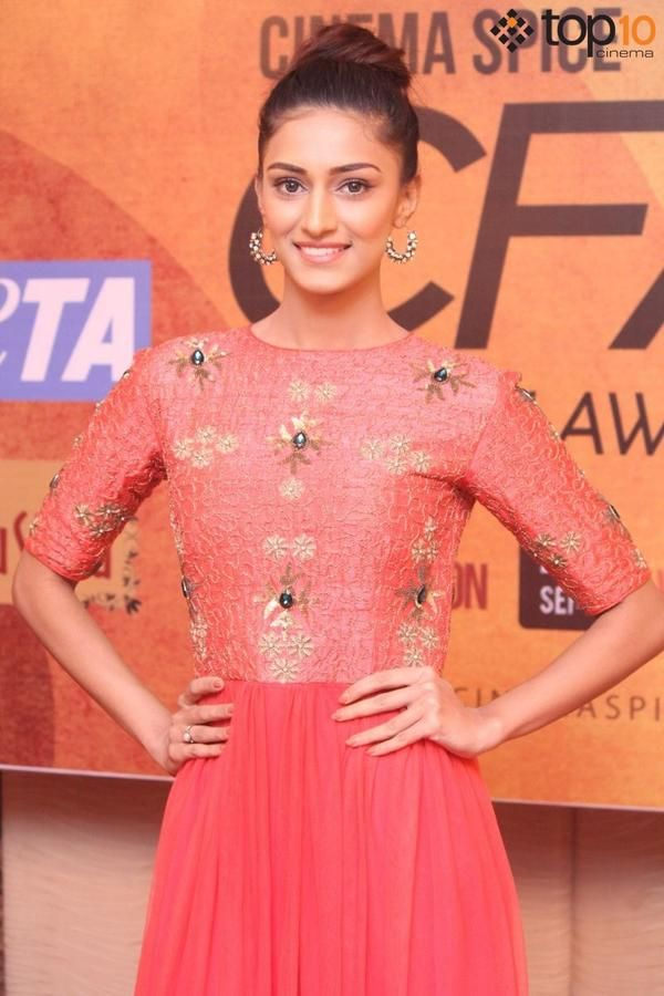 Erica Fernandes at Cinema Spice Fashion Awards