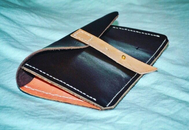 My Leather Work.... Real leather. Hand crafted, hand stitched. Pencil / small tools pouch. Rough and tough stuff. Last for decades...
