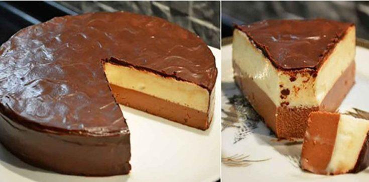 Tortul Duett, puțină creativitate și deja e gata acest deliciu fără coacere Tortul Duett este din frișcă și spumă de ciocolată, învelit într-o glazură de ciocolată irezistibilă. Acest desert este delicios și foarte arătos! Dacă gustați,
