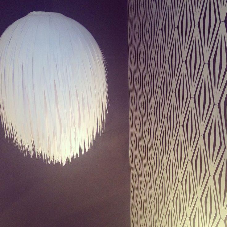 Fancy Ikea Papierlampe Pimp my Regolit Diy Papierstreifen Kronleuchter diy chandelier paper