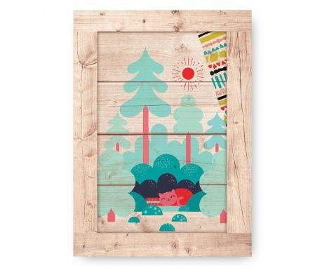 Tablou Forest Cozy