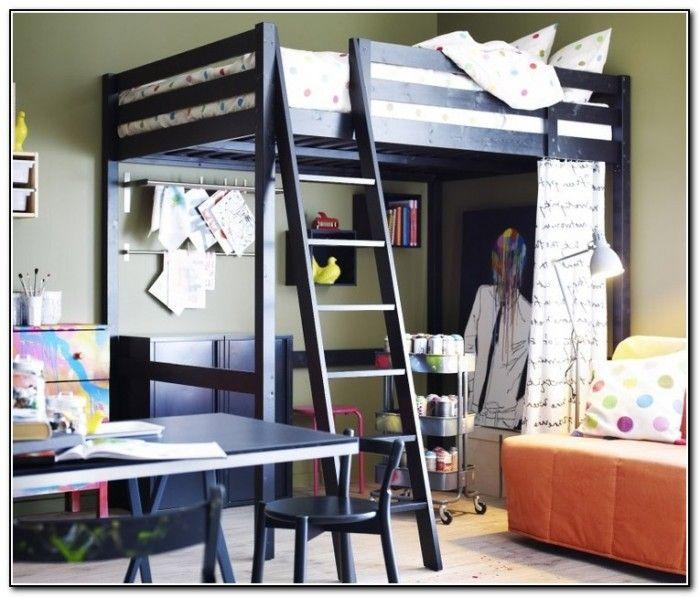 Ikea Loft Bed Ideas Ikea Loft Bed Small Apartment