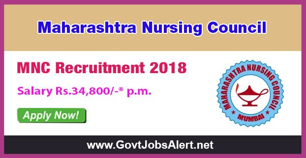 MNC Recruitment 2018 - Hiring Computer Supervisor cum Programmer Post, Salary Rs.34,800/- : Apply Now !!!  The Maharashtra Nursing Council– MNC Recruitment 2018 has released an official employment notification inviting interested and eligible candidates to apply for the positions of Computer Supervisor cum Programmer. The eligible candidates may apply to the posts in the prescribed format available in official website or in the official Advt. PDF below (can be downloaded)