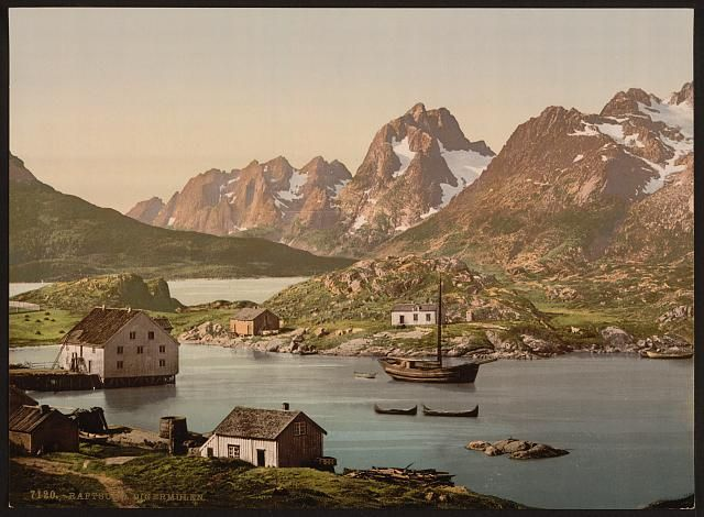 [Raftsund, Lofoten, Digermulen, Norway] ca 1890-1900