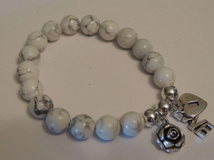 White Howlite Calming Gemstones