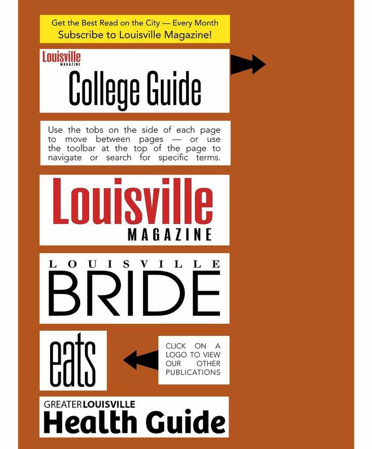 Louisville College Guide - 2013