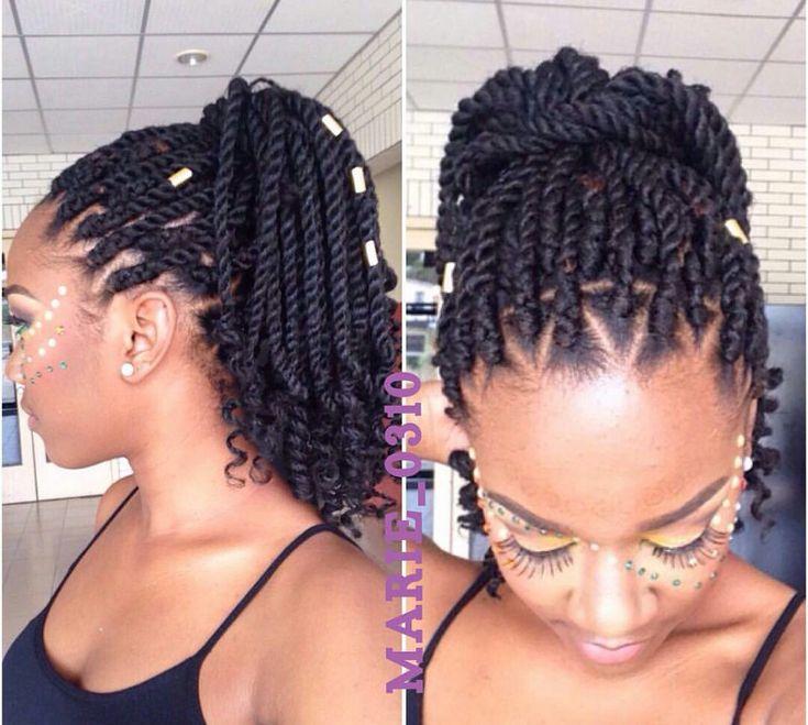 Fantastic 1000 Ideas About Black Braided Hairstyles On Pinterest Short Hairstyles Gunalazisus