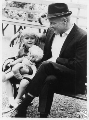 Family Affair Brian Keith | Family Affair: Anissa Jones and Brian Keith