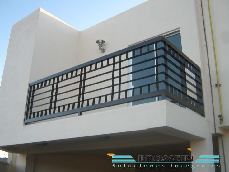 M s de 25 ideas incre bles sobre barandales de herreria en - Proteccion para terrazas ...