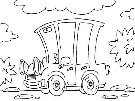 An Old School Vintage Car Coloring Page Lots More Free Pages At