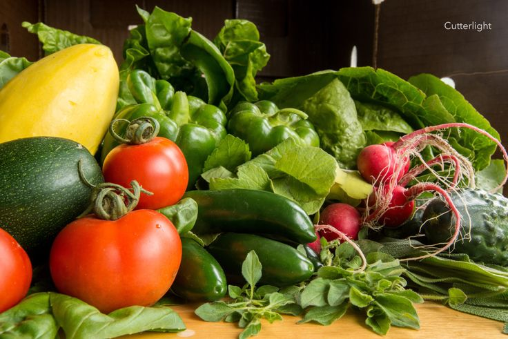 Once a week flown in a little bush airplane, a box shows up packed with freshly picked vegetables. It's like having a birthday each week! We've written a number articles about how we get food out t…