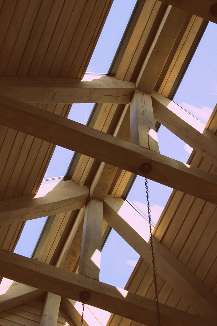 With your heads in the clouds... #Roofing #poplar #home