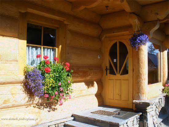 Wejście do domku