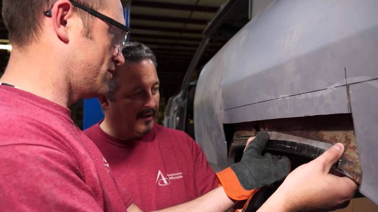 American Modern's The Build team is working on figuring out the best way to patch the rusted out quarter panel on the 1965 Chevy Malibu SS. Be sure to follow along on Facebook: https://www.facebook.com/AmericanModernCollectorCar @American Modern Insurance Group