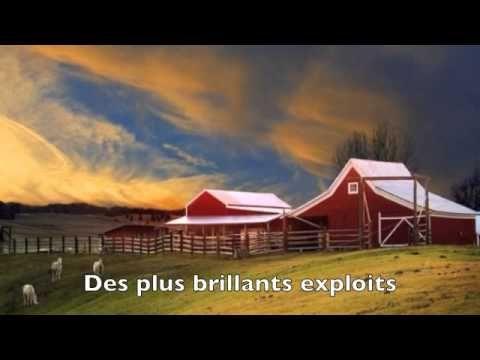Chanson: O Canada (avec des paroles et des différents images du Canada)
