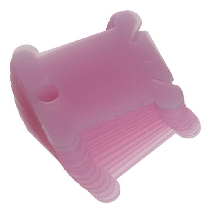 Горячая распродажа 20 шт. пластиковые нить бобин для мулине для хранения судов держатель совета карт цветной D0900 купить на AliExpress