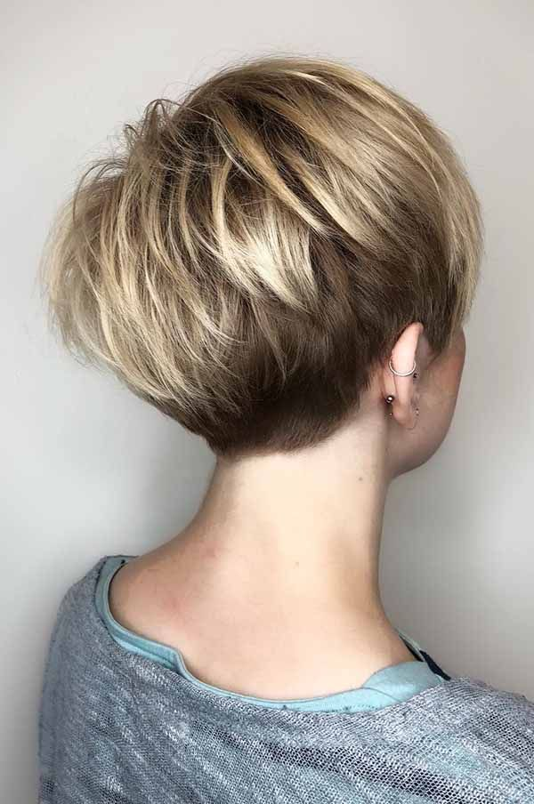Looking for short fine hairstyles? Then you are in the best and the perfect place.So, take a glance! #Shorthairstylesfo…