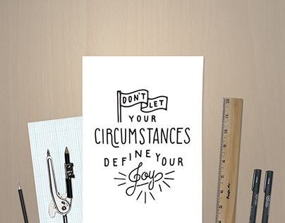 """Hand Drawn Quote Illustration"" http://on.be.net/1HwNNtx  #printable #vector #handlettering #handtype #typography #vectordownload #graphicdesign #quote #inspiration #design #graphicart #DIY #greetingcard #creativemarket #digitalgoods #digitaldownloads"
