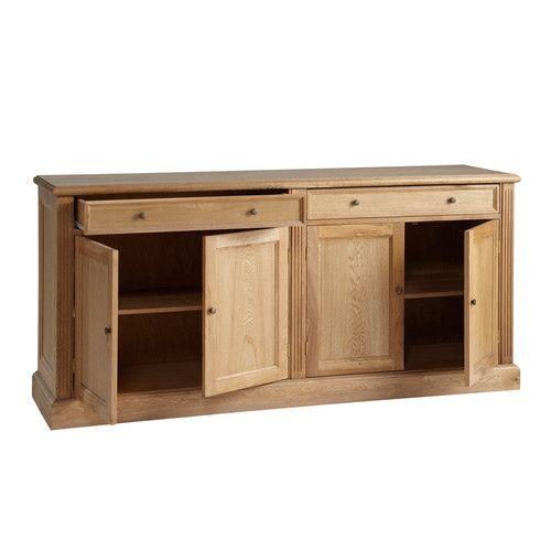 Solid oak sideboard W 185cm