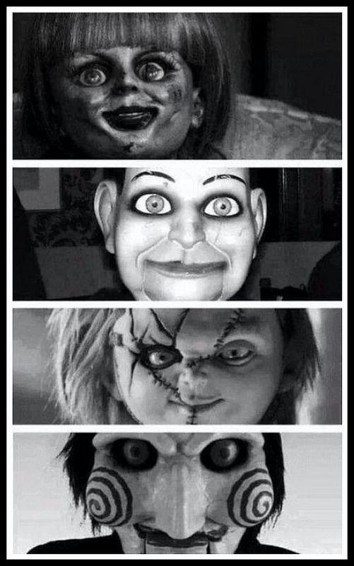 Los muñecos más aterradores