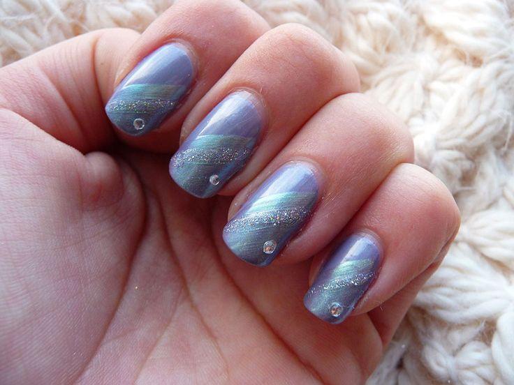 50 Fotos de Uñas decoradas para Invierno – Winter Nail art | Decoración de Uñas - Manicura y Nail Art