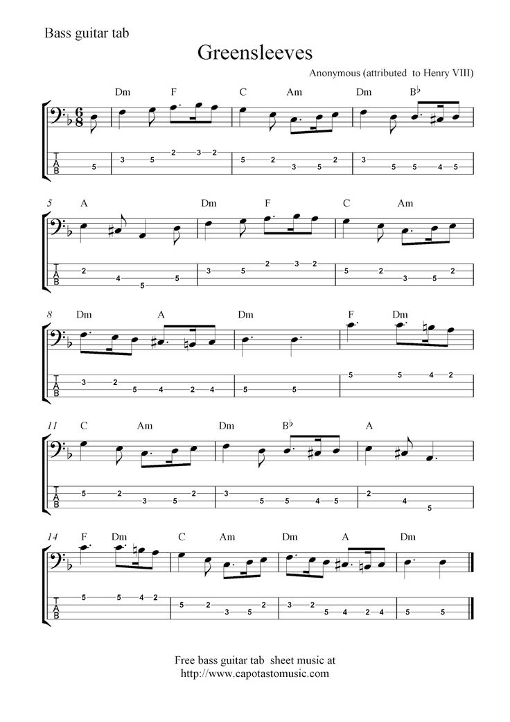 All Music Chords free bass sheet music : 28 best Basa - tabulatury,tablature,tab,tabs images on Pinterest ...