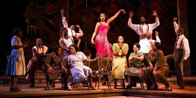 """The cast of Broadway's The Color Purple gathered on stage Thursday night for an inspiring tribute to music legend Prince, who died earlier in the day.   The Cast Of """"The Color Purple"""" Sang A Powerful Version Of """"Purple Rain"""" In Tribute To Prince - BuzzFeed News"""