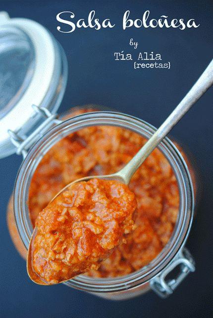 Tía Alia Recetas: Salsa boloñesa [la MEJOR que he probado hasta la fecha]