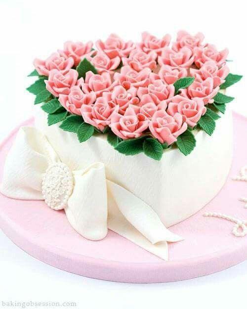 13 best valentine cake images on Pinterest | Heart cakes, Petit ...
