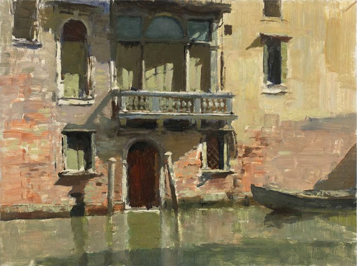 Edward Seago, The Little Palazzo, Venice
