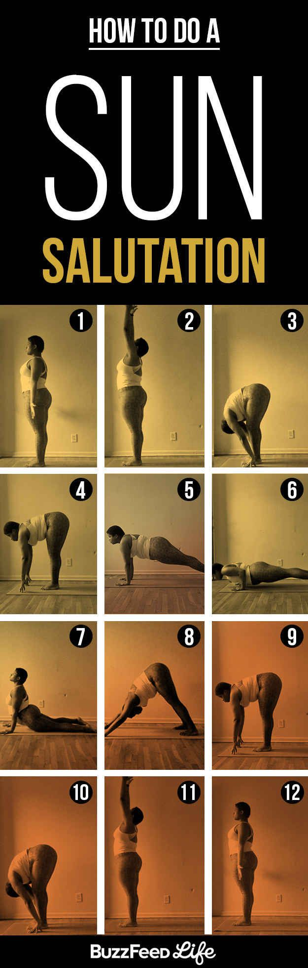 Here's A Yoga Sequence For A Beautiful Morning