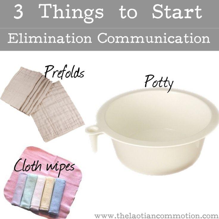 3 Things to Start Elimination Communication