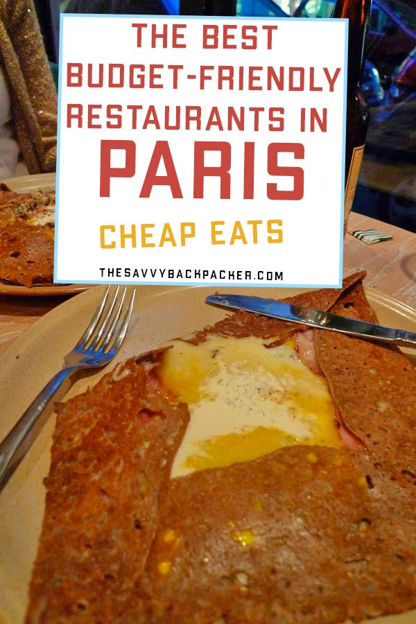 Best Budget Restaurants in Paris — How To Eat Cheap in Paris for ...